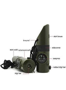 1 multifunctional apito camping kits