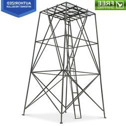 10' Foot Elevated Hunting Platform Tower Deer Elk Bow Stand