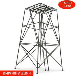 Guide Gear 10 Ft Powder-Coated Sturdy Steel Tree Stand Hunti