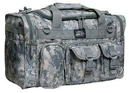 """18"""" 1200 cu.in. Tactical Duffle Military Molle Gear Shoulder"""