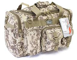 "18"" 1200 cu.in. Tactical Duffle Military Molle Gear Shoulder"