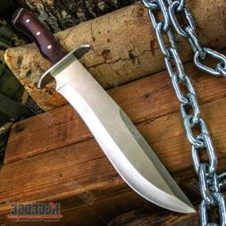 """13.5"""" Fixed Blade Survival Knife Hunting Fishing Machete Hat"""