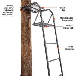 Guide Gear 15' Ladder Tree Stand Platform Deer Hunting Seat
