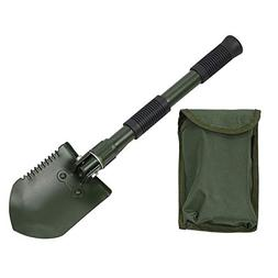 Ffpazig 15CM Multi-Function Folding Engineering Shovel 1 Pac