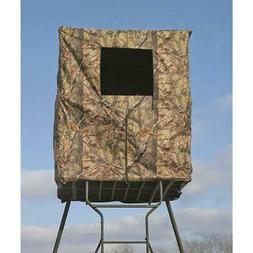 2-Man Tower Hunting Blind Water Resist Scent Control Steel F