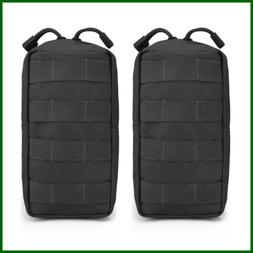 G4free 2 Pack Tactical Molle Pouches Compact Utility EDC Wai