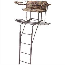 Guide Gear 20 2-man Double Rail Ladder Tree Stand With Hunti