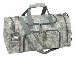 "21"" Tactical Military Duffle Camo Gun Ammo Range Gear Bag Hu"