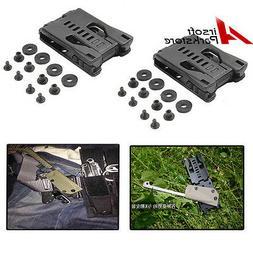 2pcs hunting belt clip gear multifunction k