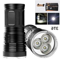 3 Light <font><b>Gears</b></font> Handheld Portable CREE T6