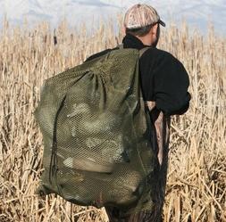 "30x38"" Mesh Duck Goose Decoy Bag w/ Draw String - Bird Hunti"