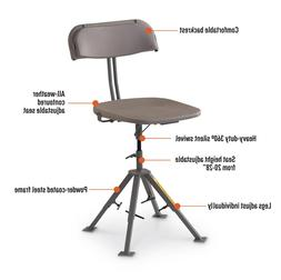 Guide Gear 360 Degree Swivel Blind Hunting Chair, 300-lb. Ca