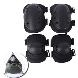 4 knee elbow protective pad protector gear