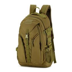 40L Tactical Daypack MOLLE Assault Backpack Military <font><