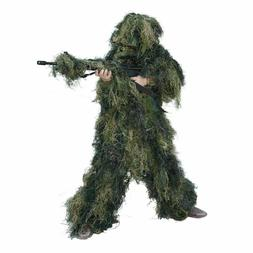 Red Rock Outdoor Gear 5 Piece Ghillie Suit, Woodland, Youth