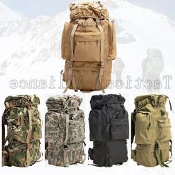 65L Waterproof Large Molle Tactical Men Women Rucksack Backp