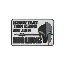 5ive Star Gear 6678 Should Run, Spartan, Military PVC Morale
