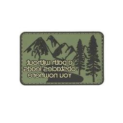 5ive Star Gear 6681 Path Without Obstacles PVC Morale Patch,