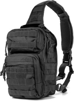 Red Rock Outdoor Gear 80129BLK Black Rover Sling Pack Backpa
