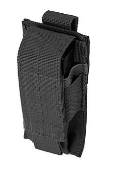 Red Rock Outdoor Gear 82-022BLK Single Pistol Mag Pouch - Bl