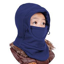 Azarxis Kids Children's Fleece Balaclava Face Mask Windproof