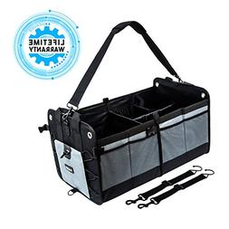 Car Trunk Organizer Collapsible Cargo Storage Bag For Campin
