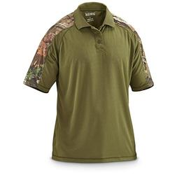 Guide Gear Men's Camo Performance Polo Shirt