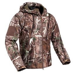 ReFire Gear Men's Soft Shell Military Tactical Jacket Outdoo
