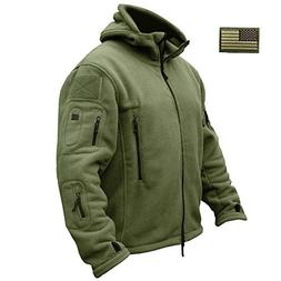 ReFire Gear Mens Warm Military Tactical Sport Fleece Hoodie