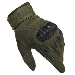 Reebow Gear Military Hard Knuckle Tactical Gloves Full Finge