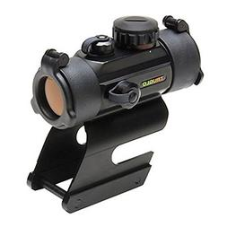 TRUGLO Red-Dot 30mm Dual-Color Remington Mount Black