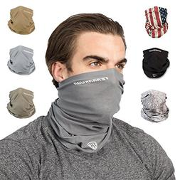 Terra Kuda Face Clothing Neck Gaiter Mask – Non Slip Light