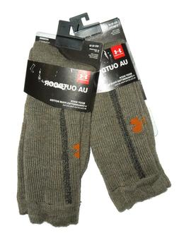 Under Armour Coldgear Hunter Boot Socks , Foliage Green, Med