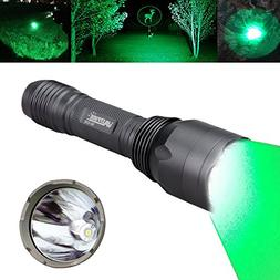 VASTFIRE Hunting Light 1000 lumen Bright CREE Green LED Flas