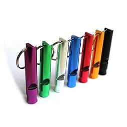 Homey Product A Set of 5 Extra Loud Whistles for Camping Hik
