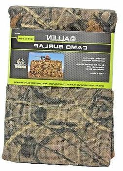 Allen Camo Burlap Blind Material for Ground Blinds, Tree Sta