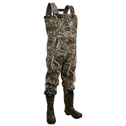 Frogg Toggs Amphib Neoprene Bootfoot Camo Chest Wader, Cleat