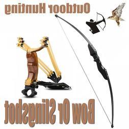 Archery Recurve Bow Set Professional Slingshot Set Outdoor H