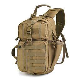 Tactical Assault Sling Pack Military Molle Hunting Range Sho