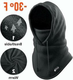 Balaclava Fleece Hood - Windproof Face Ski Mask - Ultimate T