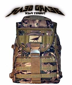 BEARD GEAR Turkey Hunting Camo Backpack / Scout Pack Range B