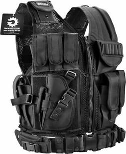 BARSKA BI13196 Loaded Gear Plus Size Tactical Vest VX-200  R
