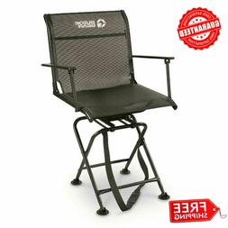 Guide Gear Big Boy Comfort Swivel Hunting Blind Chair with A