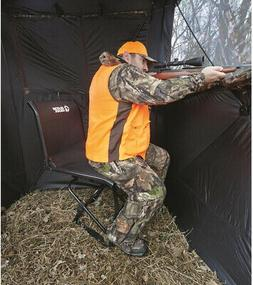 Guide Gear Big Boy Comfort Swivel Hunting Blind Chair, 500-l