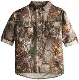 10X Men's Big Ultra-Lite Long Sleeve Shirt with Pockets, Rea