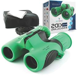 THINKPEAK TOYS Binoculars for Kids High Resolution 8x21 - Co
