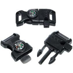 black compass buckle