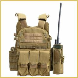 Body Armor JPC Plate Carrier Vest Ammo Magazine Chest Rig Ai