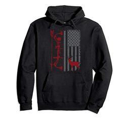 Bow Hunter American Flag Hoodie Buckwear Gear
