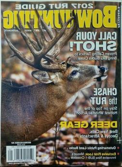 Bowhunting Nov Dec 2017 Rut Guide Call Your Shot Deer Gear H